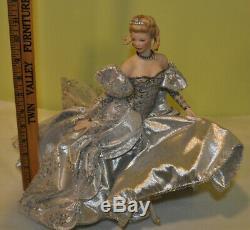 Super Rare Franklin Mint Cinderella Porcelain Doll by Eileen Rudisill Miller 12
