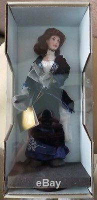 TITANIC ROSE Franklin Mint New Blue Velvet Flying Dress with Box 18