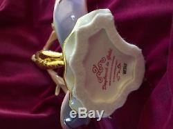 The Franklin Mint Daybreak in Gold Art Deco 24 K Gold Porcelain Figurine DECO