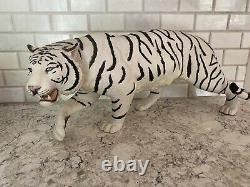 The Franklin Mint Tiger White Majesty