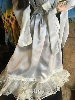 The Gibson Girl Boudoir Porcelain Doll Franklin Heirloom Mint Vintage rare