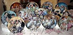 The Three 3 Stooges Lifetime Of Laughter Franklin Mint Plate Collection