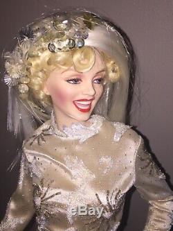 ULTIMATE MARILYN MONROE Franklin Mint 24 Porcelain Doll Withbox