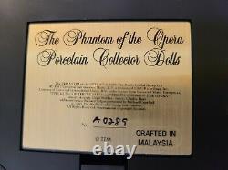 Vintage 1986 Franklin Mint Phantom Of The Opera Porcelain Collector's Dolls