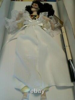 Vintage 1986 Franklin Mint Phantom Of The Opera Porcelain Heirloom Dolls NIB