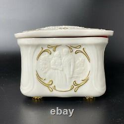 Vintage 1987 Franklin Mint Gone With the Wind GWTW Porcelain Jewelry Music Box