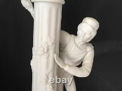 Vintage Franklin Mint1986 Romeo & Juliet Porcelain Candlestick Holders