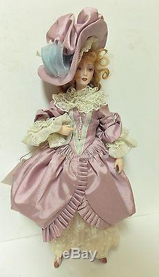 Vintage Franklin Mint Dejanay Coa Numbered Porcelain Doll Creole-cajun Historic