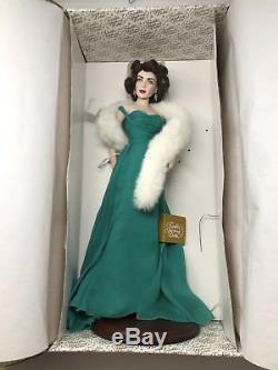 Vintage Franklin Mint Heirloom Collectors Elizabeth Taylor Porcelain Doll