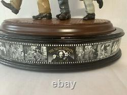 Vintage The Three Stooges Statue, Franklin Mint, You Natzy Spy Porcelain Nazi