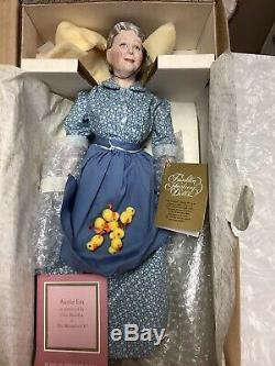 Wizard of Oz Franklin Mint Heirloom Porcelain dolls, complete set, see photos